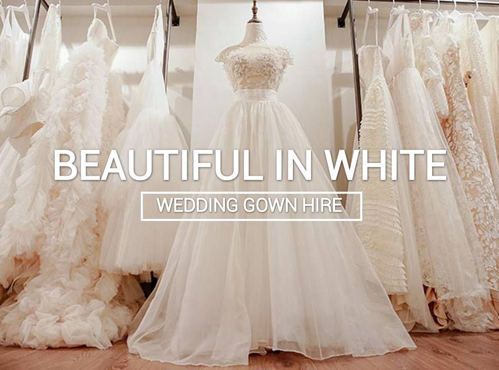 Bridal gown hire