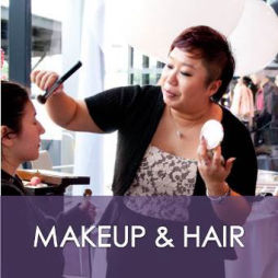 Modern Asian makeup & hair