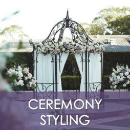 Wedding Ceremony Styling