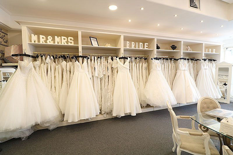 Sydney bridal gown hire shop